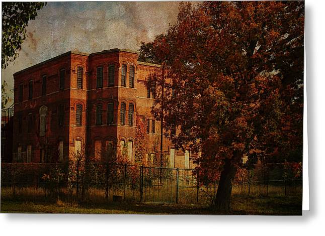 Psychiatric Greeting Cards - Homeopathic Asylum  Greeting Card by Pamela Phelps