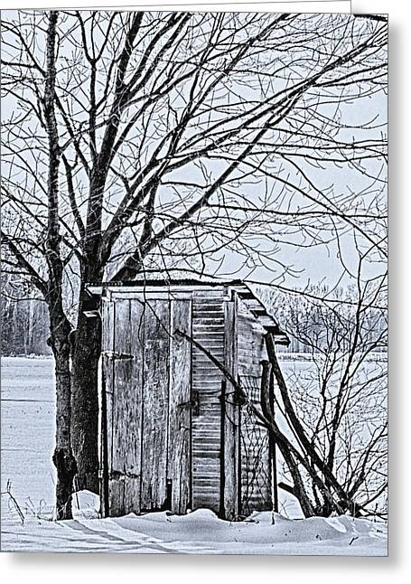 Recently Sold -  - Outbuildings Greeting Cards - Homestead 4 Greeting Card by Deb Henman