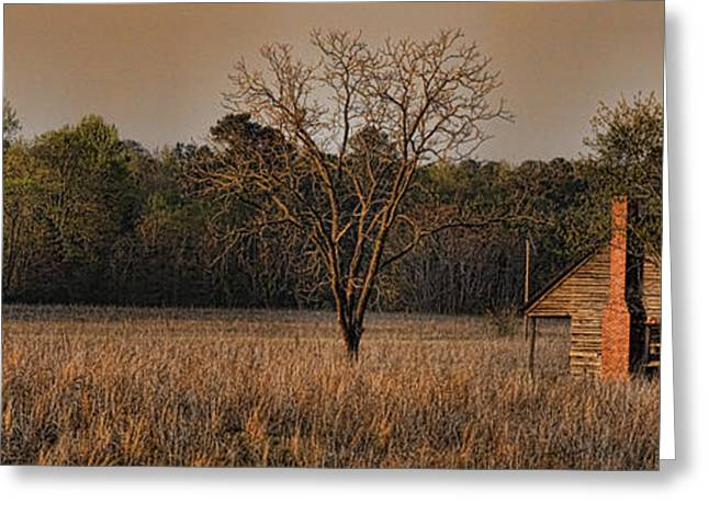 Tin Roof Greeting Cards - Homestead Greeting Card by Ashley Evans