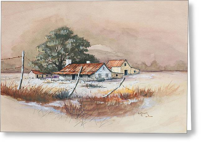 Bob Hallmark Greeting Cards - Homestead Greeting Card by Bob Hallmark