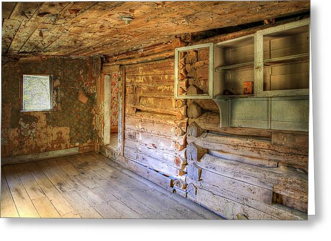 Boxley Valley Greeting Cards - Homestead Greeting Card by Tony  Colvin