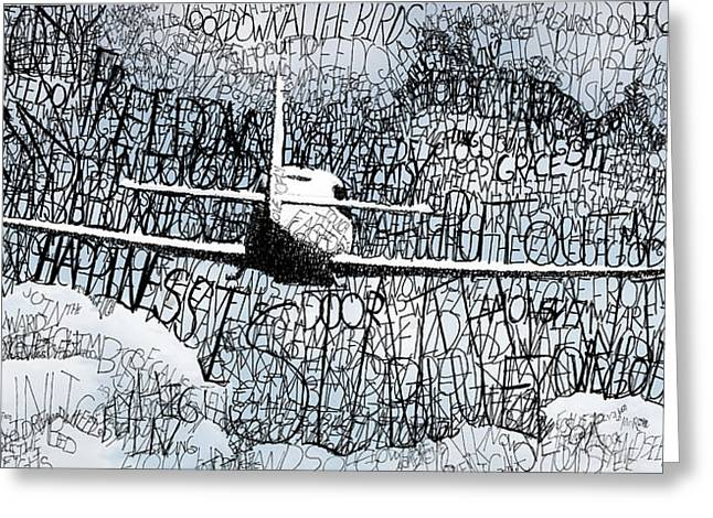 Cessna Greeting Cards - Homeward Bound Greeting Card by Michael  Volpicelli