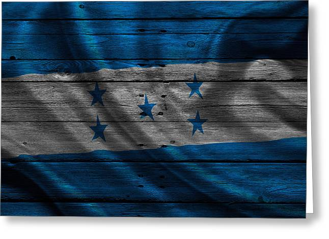 Continent Greeting Cards - Honduras Greeting Card by Joe Hamilton