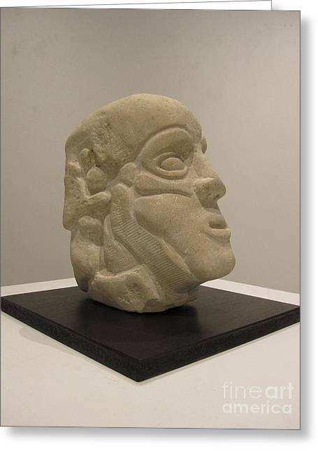 Stones Sculptures Greeting Cards - Honesty Greeting Card by Devin  Cogger