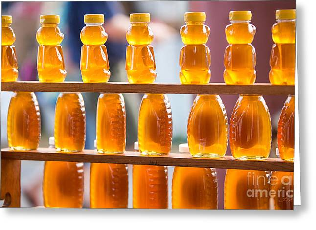 Gift For Photographer Greeting Cards - Honey Bears and Jars Greeting Card by Iris Richardson