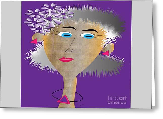 Honey Greeting Card by Iris Gelbart