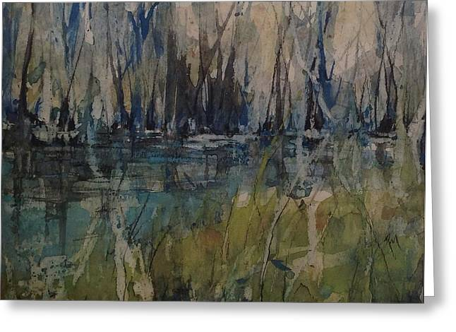 Slidell Greeting Cards - Honey Island Swamp Series Greeting Card by Robin Miller-Bookhout