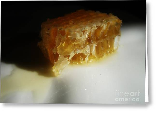 Honeycomb Greeting Cards - Honeycomb Greeting Card by Kristine Nora