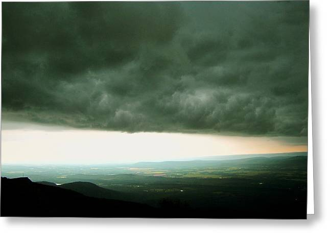 Mt Magazine Greeting Cards - Honeymoon Storm Greeting Card by Karen Beasley