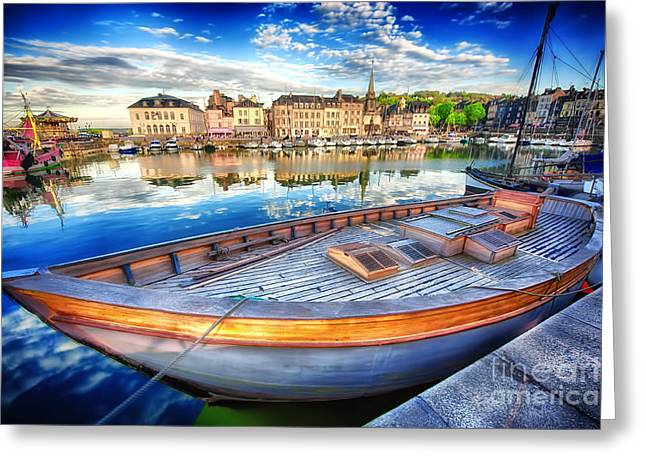 D700 Greeting Cards - Honfleur at Rest Greeting Card by Jack Torcello