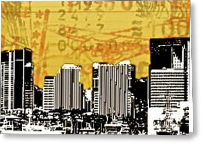 Division Greeting Cards - Honolulu Post Card - 96813 Greeting Card by Joe Finney