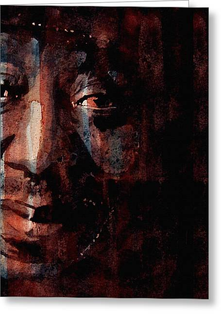 Muddy Waters Greeting Cards - Hoochie Coochie Man Greeting Card by Paul Lovering