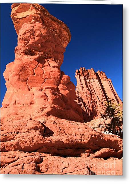 128 Greeting Cards - Hoodoo And Towers Greeting Card by Adam Jewell