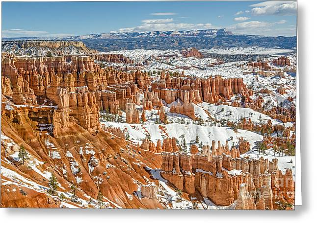 Sue Smith Greeting Cards - Hoodoos at Sunset Point Greeting Card by Sue Smith