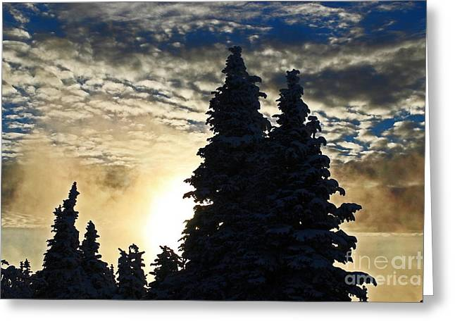 Spokane Greeting Cards - Hoodoos Sunset One Fifty Six Greeting Card by Donald Sewell