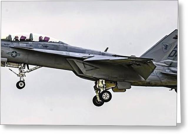 Airshow Greeting Cards - Hook em Greeting Card by Dado Molina