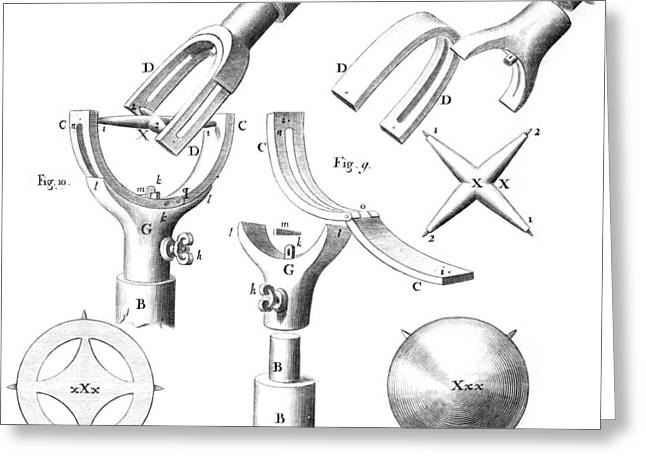 Mechanism Photographs Greeting Cards - Hookes universal joint, 17th century Greeting Card by Science Photo Library