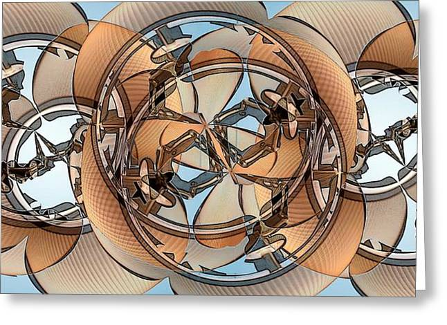 Corduroys Greeting Cards - Hoop Flaps Greeting Card by Ron Bissett
