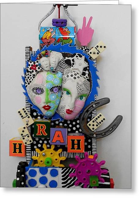 Hoorah For Everything Greeting Card by Keri Joy Colestock