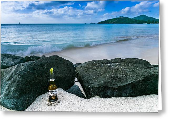 Cerveza Greeting Cards - Hooray for beer  Greeting Card by William Huchton