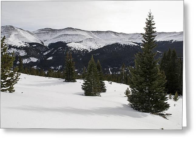13er Greeting Cards - Hooseir Ridge Greeting Card by Aaron Spong