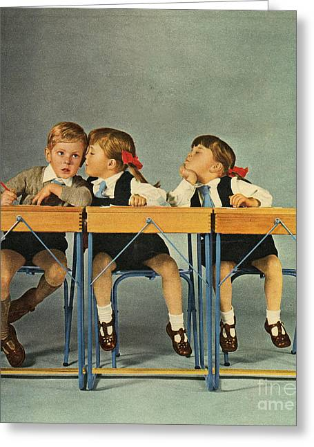 Recently Sold -  - 1960 Greeting Cards - Hoover 1963 1960s Uk Schools Children Greeting Card by The Advertising Archives