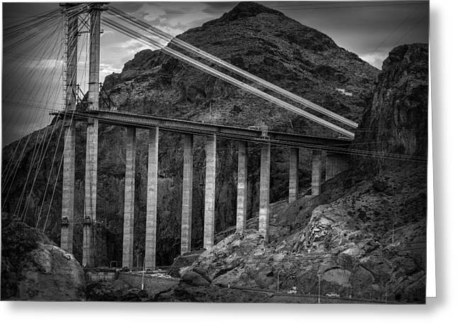 Hoover Greeting Cards - Hoover Dam Greeting Card by Ian Barber