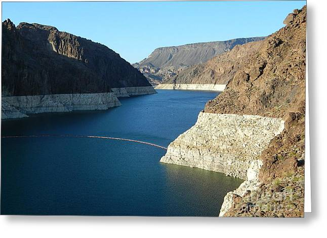 Dam Framed Prints Greeting Cards - Hoover Dam In May Greeting Card by Emmy Marie Vickers