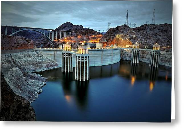 Hoover Dam Greeting Cards - Hoover Dam Greeting Card by Mark Ross