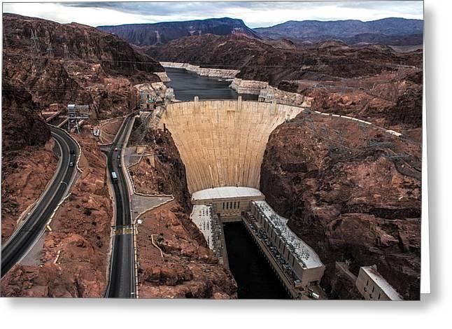 Hoover Dam Greeting Cards - Hoover Dam Greeting Card by Paul Freidlund