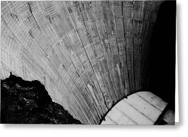 Hoover Dam Greeting Cards - Hoover Dam View Greeting Card by Alexander Snay