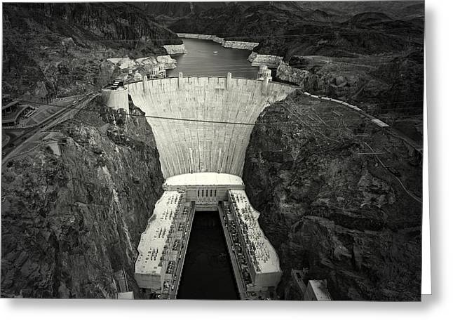 Hoover Dam Greeting Cards - Hoover Greeting Card by Mark Ross