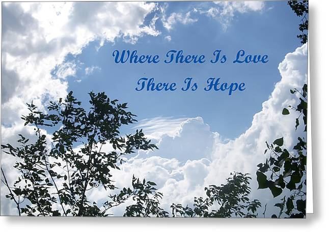 Hope Greeting Card by Aimee L Maher Photography and Art