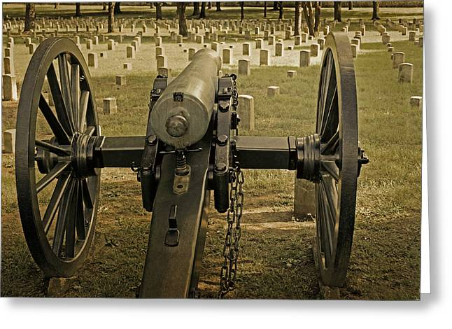 Civil War Site Photographs Greeting Cards - Hope and Change Greeting Card by Steven  Michael