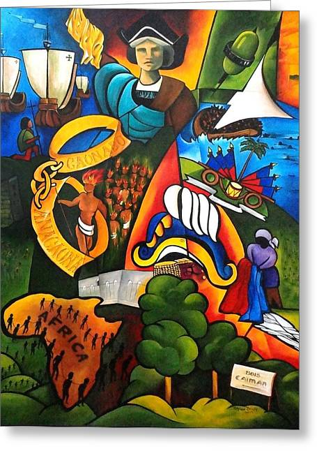 Haitian Greeting Cards - Hope at Sunrise Greeting Card by Patricia Brintle