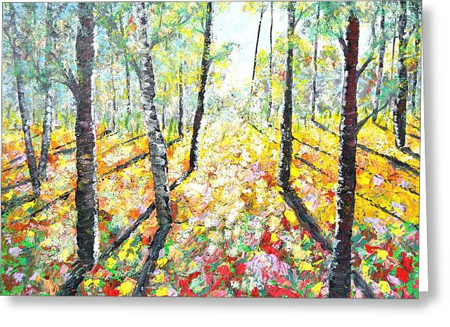 White Paintings Greeting Cards - Hope Greeting Card by Debra Kent