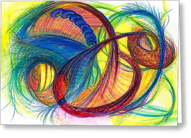 Bright Drawings Greeting Cards - Hope Fills the Holes Greeting Card by Kelly K H B