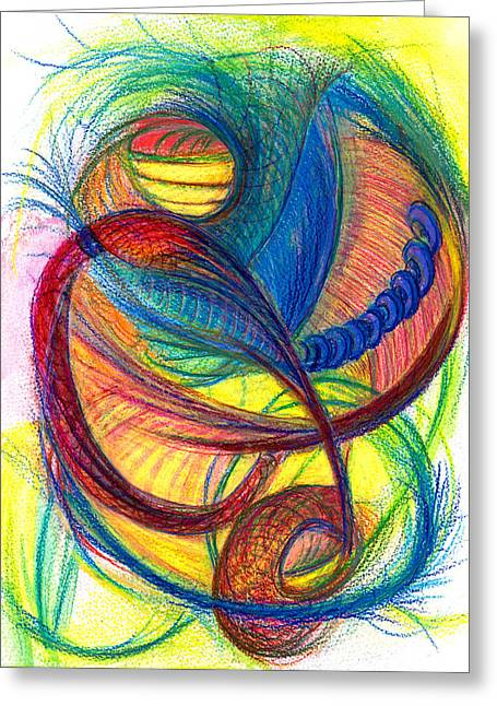 Bright Drawings Greeting Cards - Hope Fills the Holes- Vertical Greeting Card by Kelly K H B