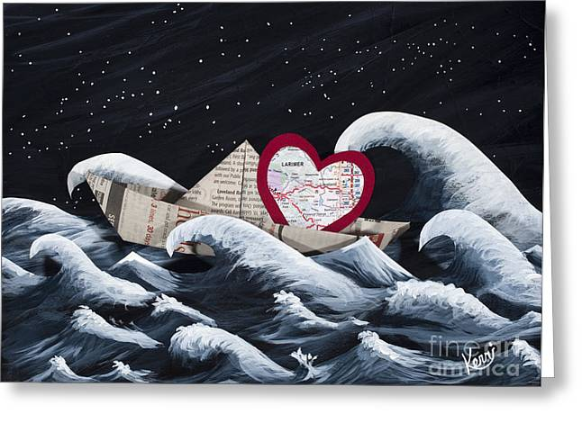 Loveland Greeting Cards - Hope Floats Greeting Card by Kerri Ertman