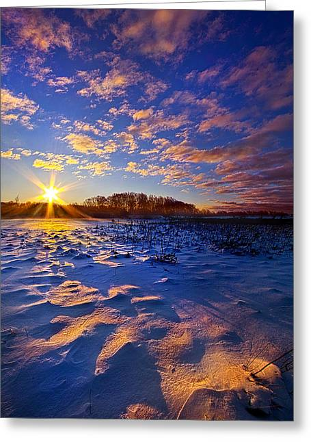 Sunrise Greeting Cards - Hope Is Never Lost Greeting Card by Phil Koch