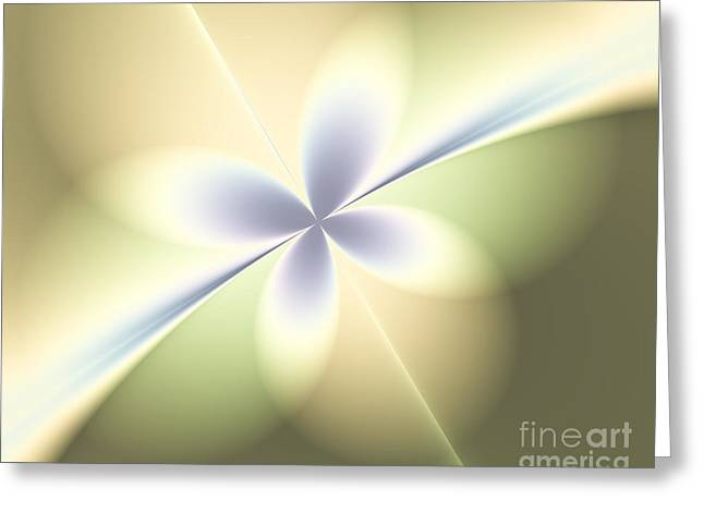 Fractal Orbs Greeting Cards - Hope On The Horizon Greeting Card by Yvonne Johnstone