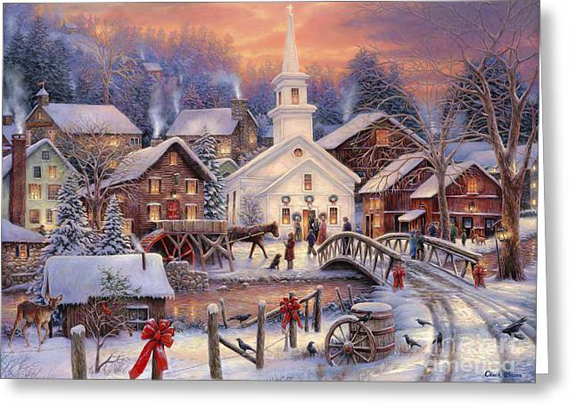 Old Barns Greeting Cards - Hope Runs Deep Greeting Card by Chuck Pinson