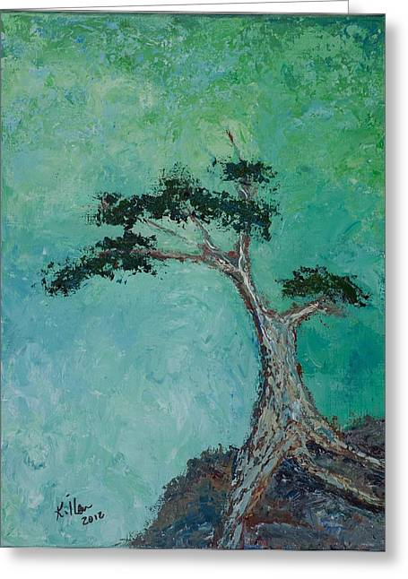 Pallet Knife Greeting Cards - Hope Greeting Card by William Killen