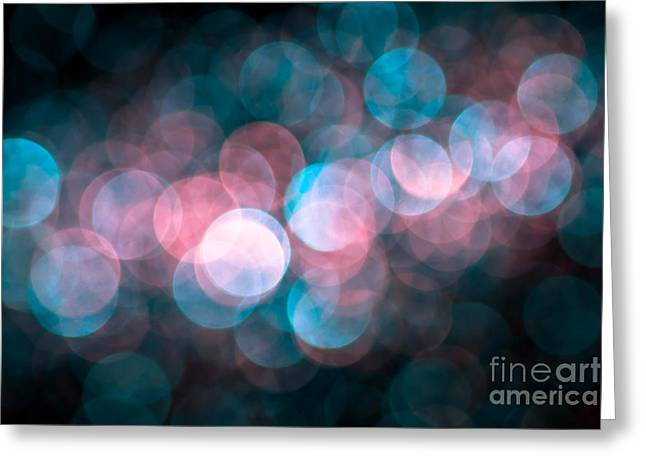 Defocused Greeting Cards - Hopelessly in Love Greeting Card by Jan Bickerton