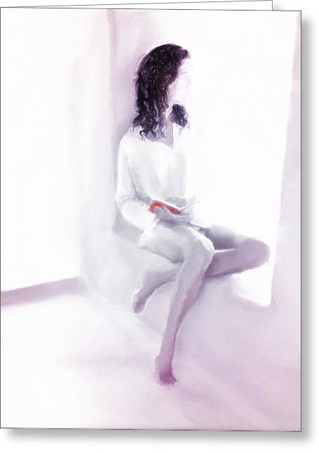 D.w. Digital Art Greeting Cards - Hopes and Dreams Greeting Card by Lee Haxton