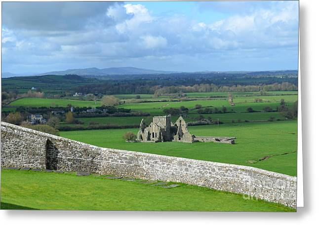 Hores Greeting Cards - Hore Abbey Greeting Card by DejaVu Designs