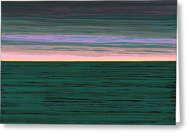 Fineartamerica Greeting Cards - Horizon   Number 1 Greeting Card by Diane Strain