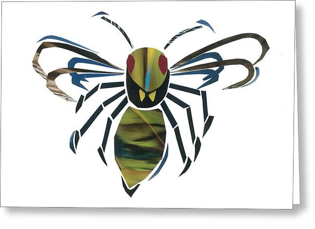 Hornet Greeting Card by Earl ContehMorgan
