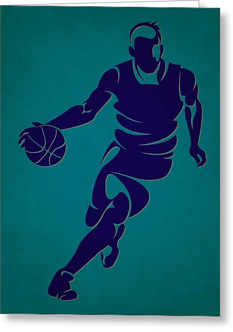 Charlotte Greeting Cards - Hornets Basketball Player3 Greeting Card by Joe Hamilton