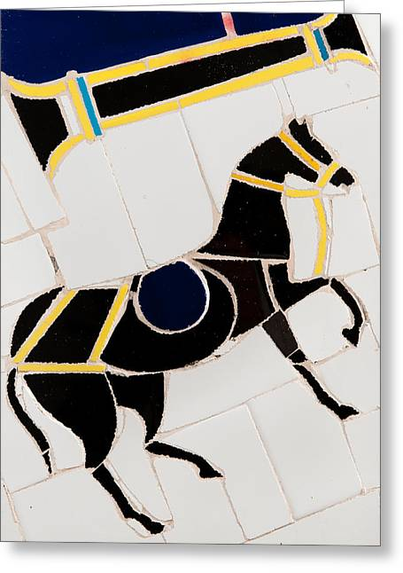 Asian Ceramics Greeting Cards - Horse-01 Greeting Card by Haris Sheikh